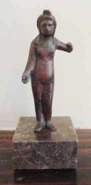 A Roman Bronze Statue of the G