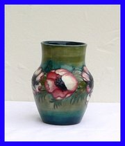 William Moorcroft Anemone Vase