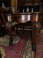 Edwardian Chippendale Walnut D