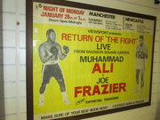 Original boxing poster muhamma