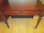 victorian mahogany hall table