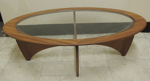 plans oval coffee table