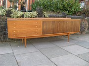 1950s Robert Heritage teak and