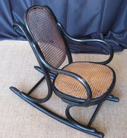 Child bentwood rocking chair