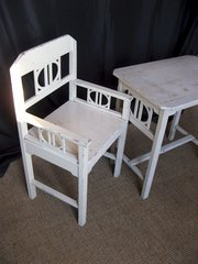 Secessionist childs table and