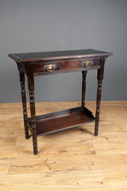 Edwardian Oak Side Table