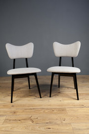 Pair of Black Retro Chairs