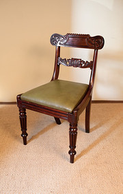 Set of Four George IV Mahogany