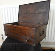 Antique Oak Box