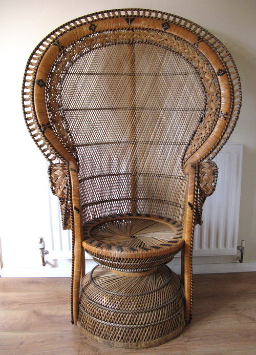 Retro Peacock Chair