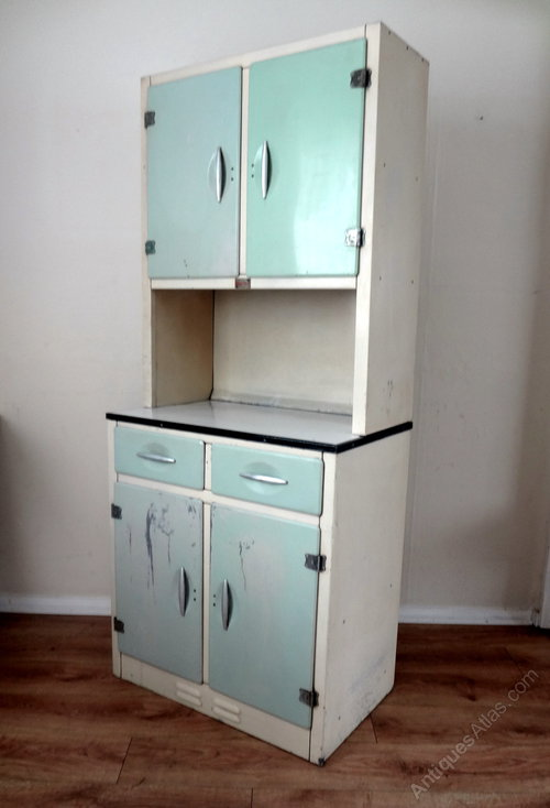 Antiques atlas retro kitchen larder cupboard for 3 piece metal kitchen units