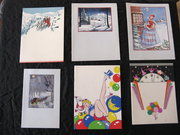 Vintage Christmas Cards Unused