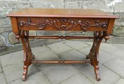 mahogany library  hall table