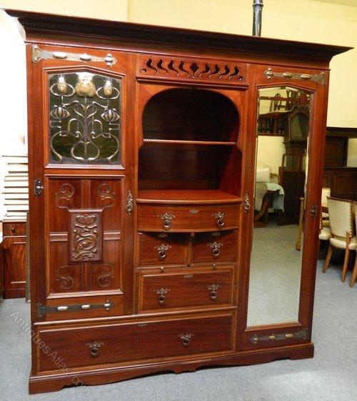 antique shapland petter bedroom suite