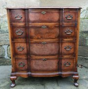 waring  gillows walnut chest o
