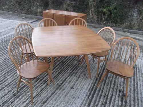 Incredible Antique 8pce Ercol dining room set. 500 x 375 · 53 kB · jpeg