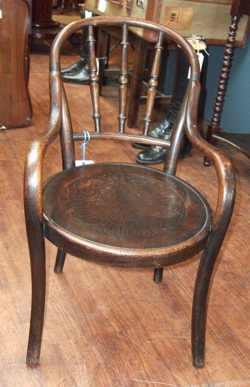 Fischel Bentwood Child S Chair Antiques Atlas