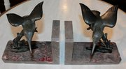 Pair of French Art Deco Hummin