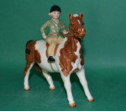 Beswick Girl on Pony  Model No