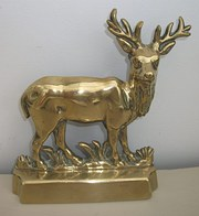 Antique Brass Deer