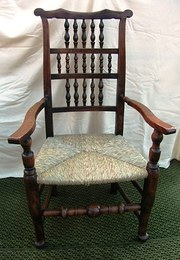 Antique Spindle Back Armchair