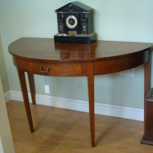Antique Mahogany Demi Lune Table | 500 X 500 · 26 KB · Jpeg