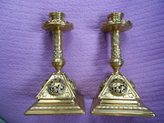 Pair of Victorian Arts  Crafts