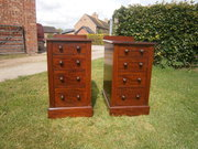 Pair of Edwardian Chests