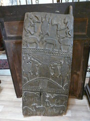19th C Tribal Chieftien Door