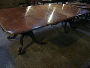 Mahogany Twin Pedestal Dining