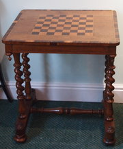Victoria Walnut Chess Table