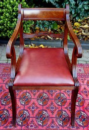 Antique Regency Open Armchair
