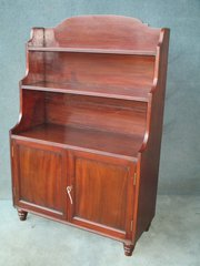 VICTORIAN WATERFALL BOOKCASE O
