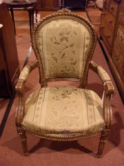 French style chair c1950