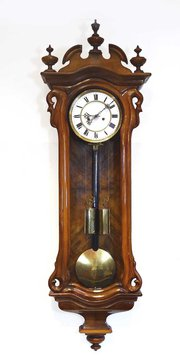 Walnut cased Vienna Regulator