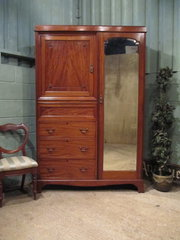 ANTIQUE EDWARDIAN MAHOGANY GEN
