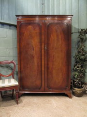 Antique Edwardian Mahogany Dou