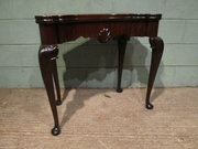 Antique Edwardian Mahogany Fol