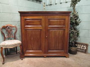 Antique Edwardian Mahogany Lin
