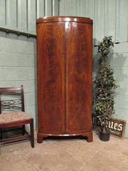 Antique Edwardian Mahogany Sin