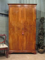 Antique Edwardian Satin Walnut