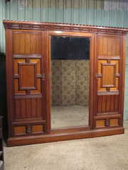 Antique Large Victorian Walnut