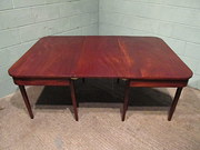 Antique Regency Mahogany Exten