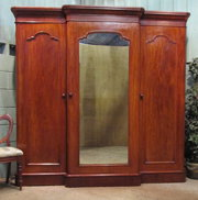 Antique Victorian Mahogany Bre