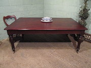 Antique Victorian Mahogany Din