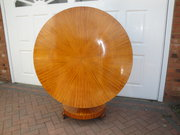 Antique Round Satinwood Dining