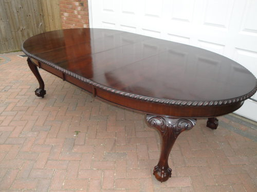 large antique mahogany dining table antiques atlas