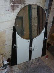 A 1950s bath room mirror  spla