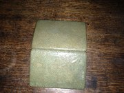 Shagreen cigarette case
