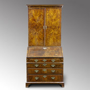 18th century  walnut bureau bo